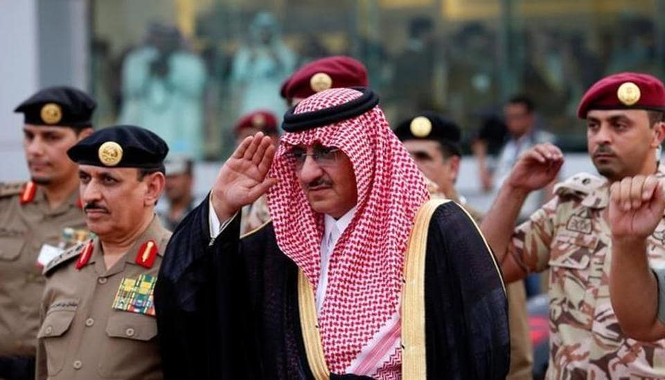 The heir to Saudi Arabia's throne has been awarded a medal by the new director of the US Central Intelligence Agency, who honoured his counter-terrorism work.