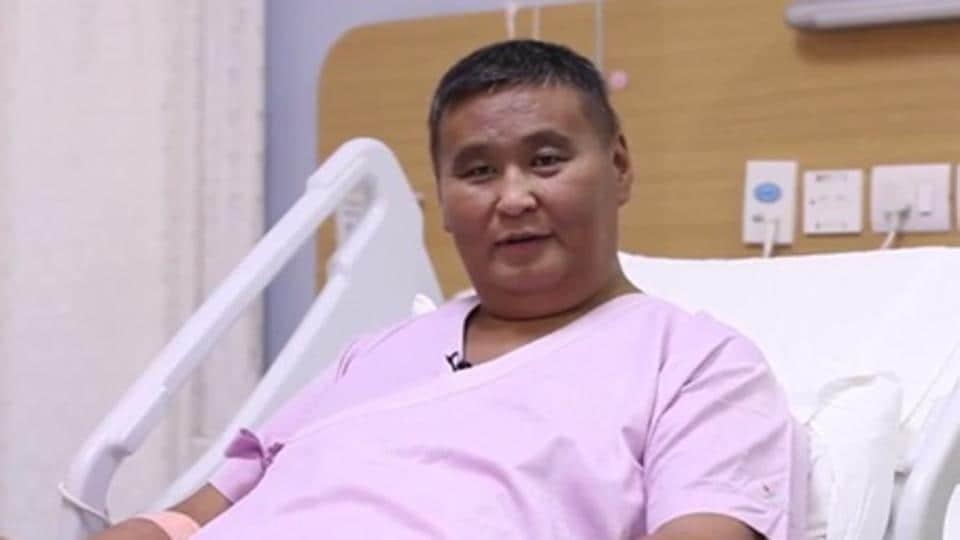 Purevsuren Dorj, a Mongolian national, got a new lease of life after doctors of a private hospital conducted the rare dual lobe liver transplant in him.