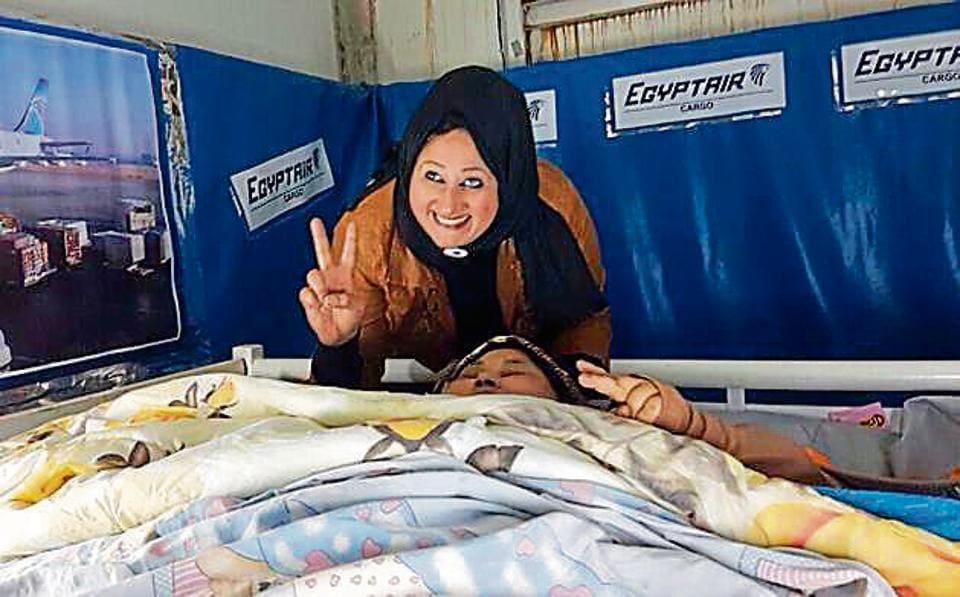 Egyptian woman,bariatric surgery,Saifee hospital