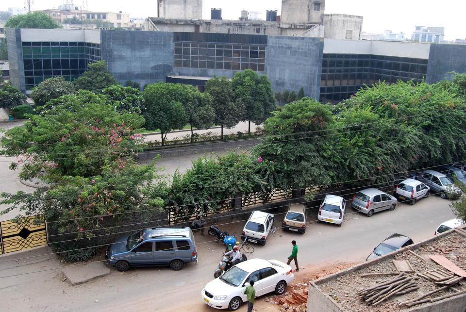 Udyog Vihar phase 4 in Gurgaon.