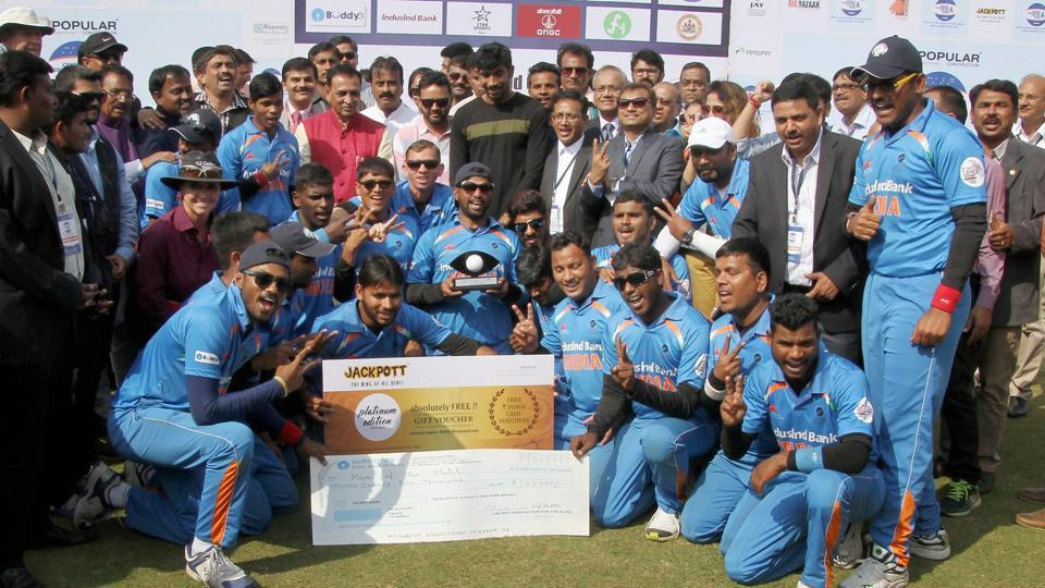 T20 blind World Cup,T20 blind World Cup final,India Blind Cricket Team