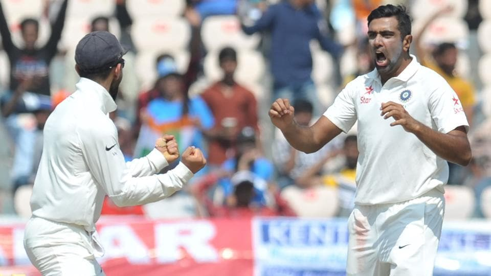 India's Ravichandran Ashwin provided an early breakthrough against Bangladesh. Get cricket score of India vs Bangladesh here.