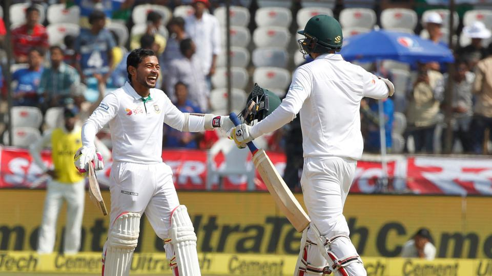 Mushfiqur Rahim notched up his fifth Test century and second against India as Bangladesh continued to stall India. (BCCI)