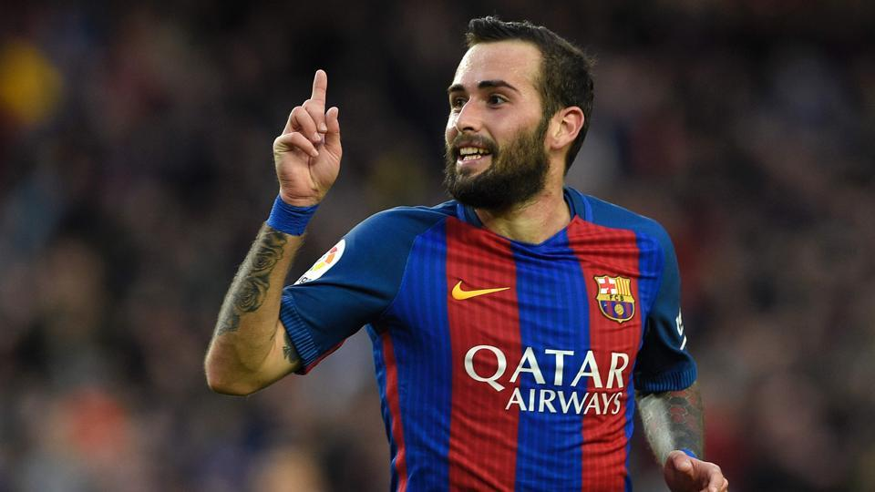 FC Barcelona's defender Aleix Vidal suffered an ankle injury during their La Liga match against Deportivo Alaves.