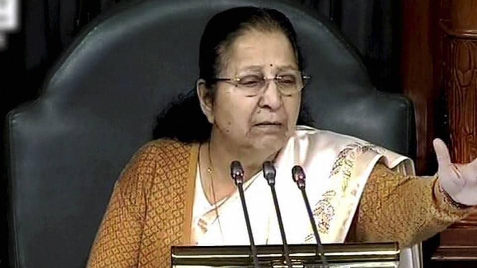Women reservation,Sumitra Mahajan,Lok Sabha speaker