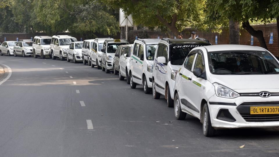 Ola and Uber taxi drivers have been on strike since Friday. They are demanding better incentives and benefits.