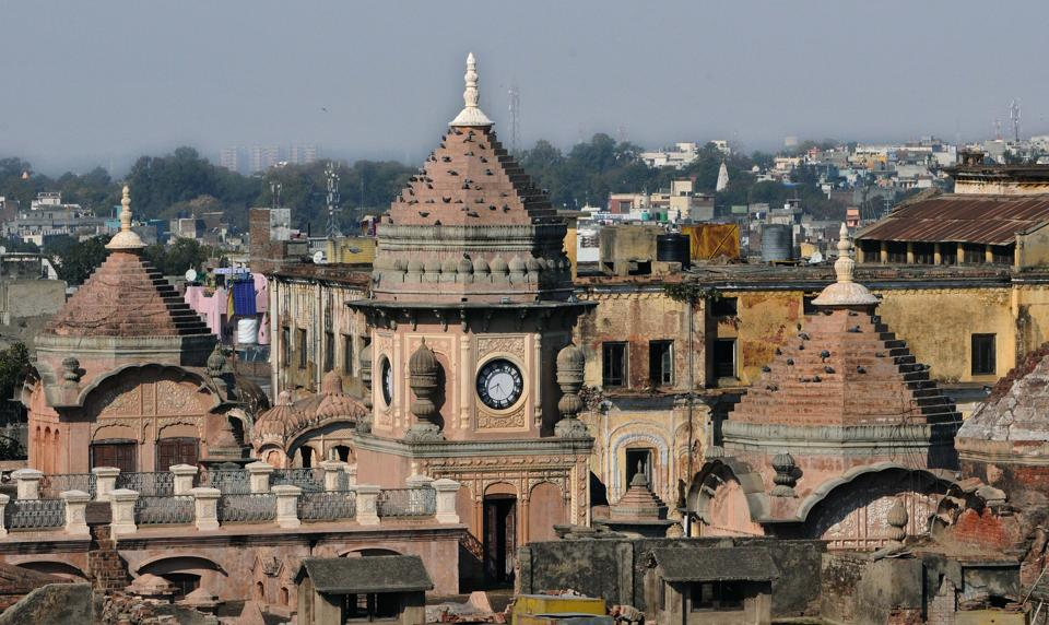 The few structures that were initially constructed, were later expanded by successive rulers. (Nitin Kanotra/HT Photo)