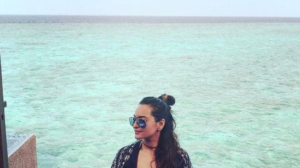 Actor Sonakshi Sinha is back from her much-deserved vacation in the picturesque Maldives. Here's a round-up of her Instagrams from her latest vacay.