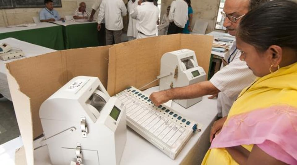 After keeping the social media abuzz with all sorts of allegations and predictions, the AAP workers have taken it upon themselves to ensure that EVMs are not tampered with.