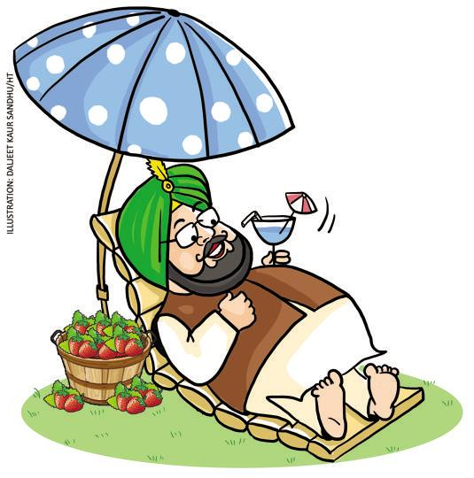 Punjab Congress chief Captain Amarinder Singh is finally getting some rest after hectic campaigning. Hopping from one rally to another, he had bruised his ankle. Captain has been advised rest by his doctor which rules out possibility of his campaigning in UP and Uttarakhand for now.