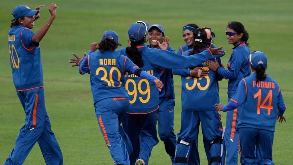 India defeat Zimbabwe by nine wickets in the ICC Women's World Cup Qualifier.