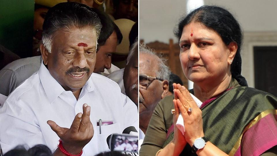 Tamil Nadu's caretaker chief minister O Panneerselvam and the ruling AIADMK's general secretary VK Sasikala have been locked in a bitter tussle over who will head the state since Panneerselvam alleged that he was forced into resigning from his post.