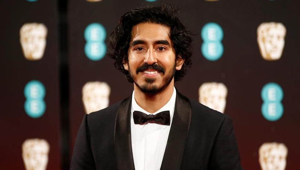 Dev Patel arrives for the British Academy of Film and Television Awards (BAFTA) at the Royal Albert Hall in London.