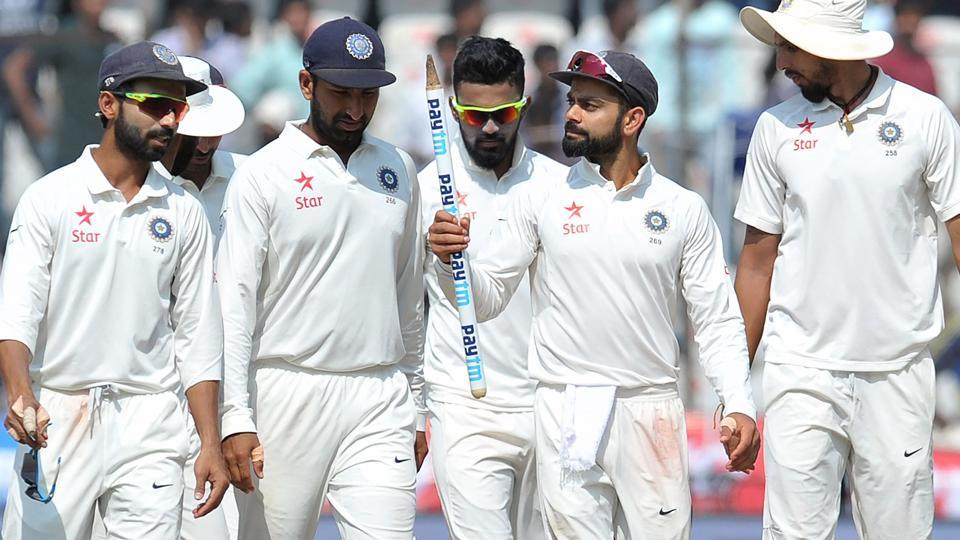 India cricket team captain Virat Kohli (2nd Right) says one of the important skills he has picked up as a captain is to keep the players calm and energised when things are not going their way.