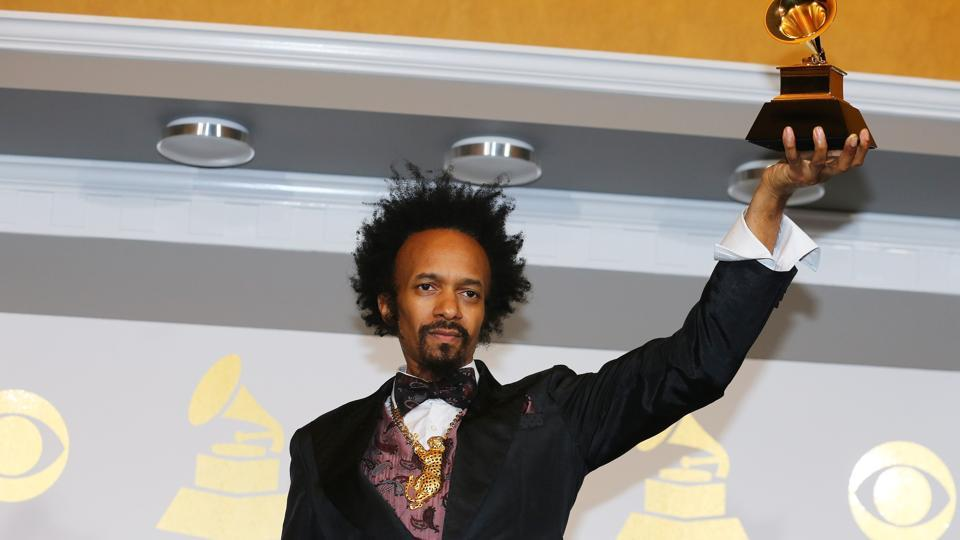Fantastic Negrito holds the award for Best Contemporary Blues Album for The Last Days Of Oakland. (REUTERS)