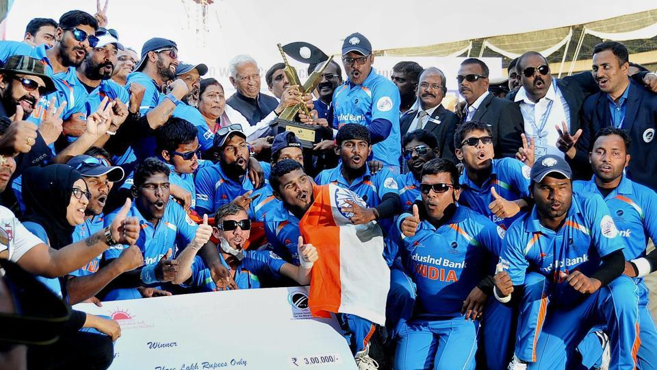 India cricket team,T20 Blind World Cup,India Blind Cricket Team