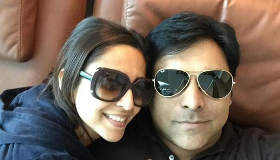Actor-couple Gautami Kapoor and Ram Kapoor.