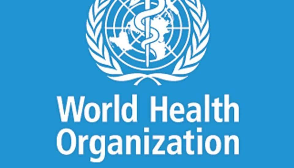 Logo of World Health Organization.
