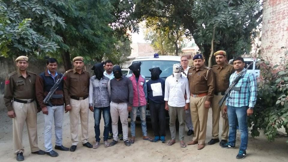 The four accused were arrested from Kanpur on Monday and taken on three-day police remand in Gurgaon.