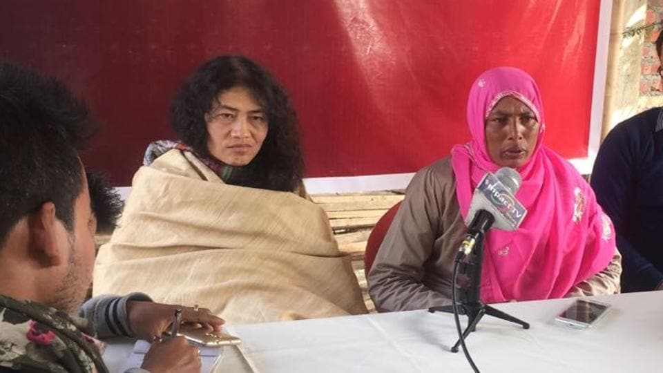 Sharmila, 44, is the marquee candidate among five newbies PRJA has fielded. She is contesting the Thoubal seat against Manipur chief minister Okram Ibobi Singh and BJP's L Bashanta Singh.