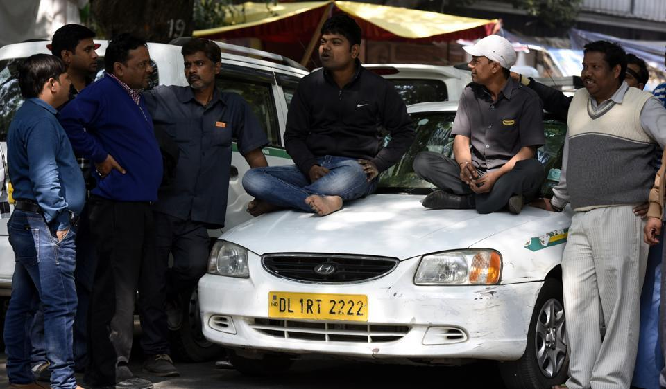 Uber had claimed that not only were its vehicles being blocked, but the mobile devices installed therein were also being removed by the striking drivers.