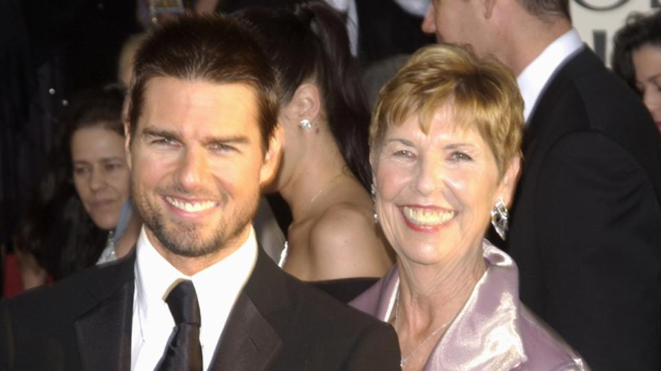 Tom Cruise and his mother at the 61st Annual Golden Globe Awards at the Beverly Hilton Hotel, Beverly Hills, CA. January 25, 2004.