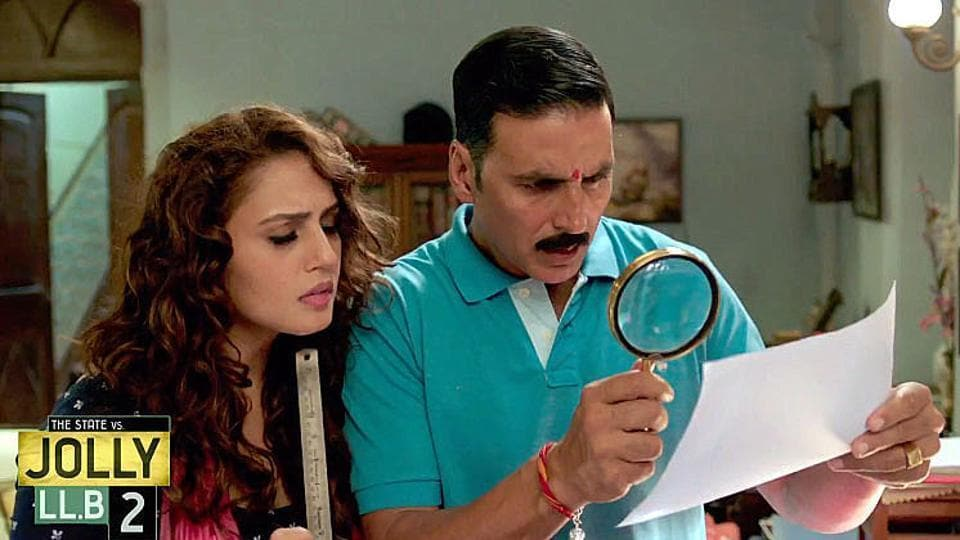 Jolly LLB 2 starring Akshay Kumar and Huma Qureshi released on February 11, 2017.