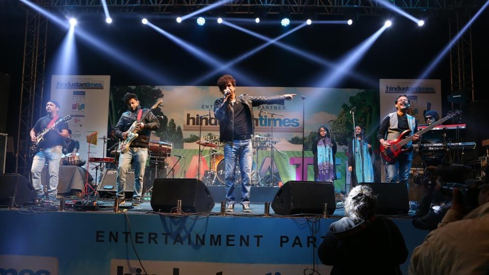 Euphoria band set the stage on fire and made the visitors groove to their ever-popular numbers, on the final day of Hindustan Times Palate Fest & Imagine Fest 2017.