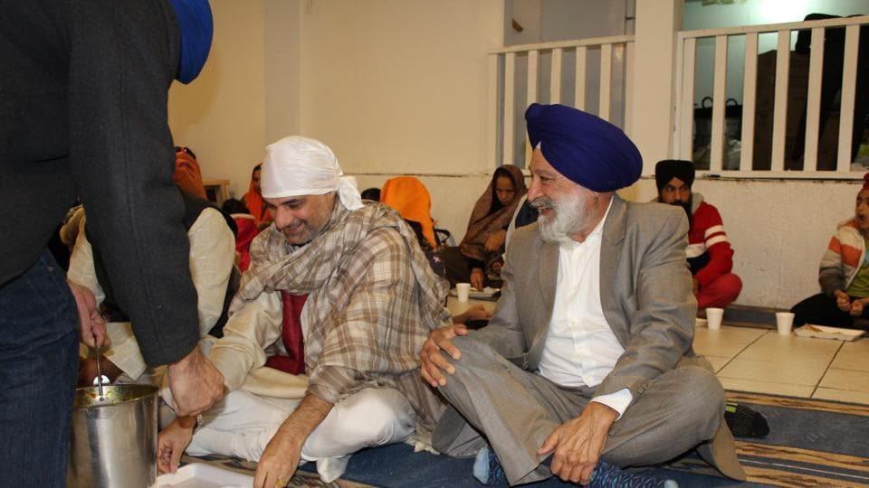 Indian govt visits Canada gurdwaras