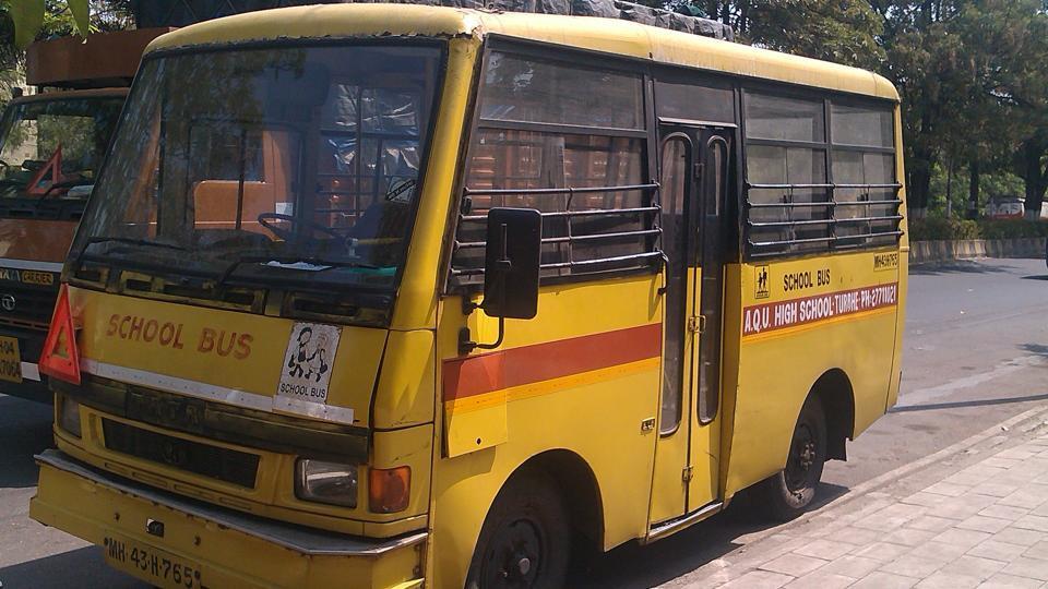 Nerul,Navi Mumbai,school bus