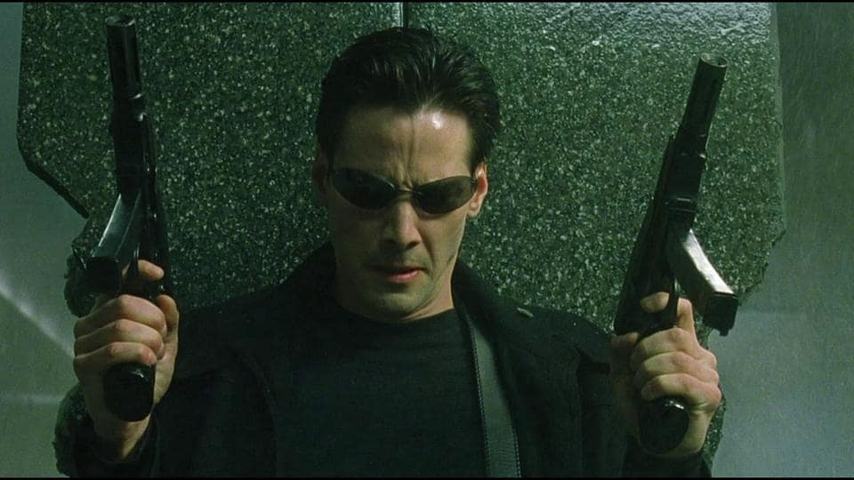The Matrix series spanned three films and ran from 1999-2003.
