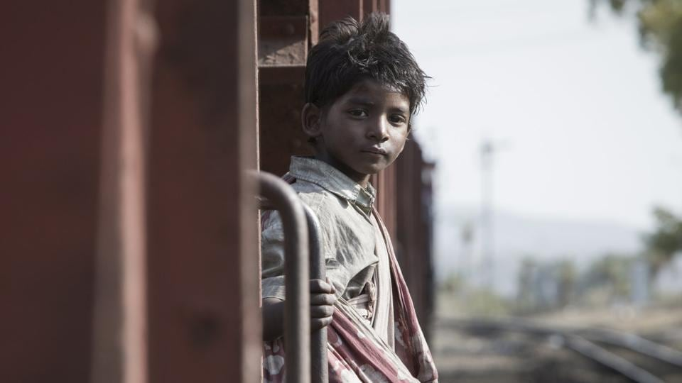 Sunny Pawar stars as young Saroo in Lion.