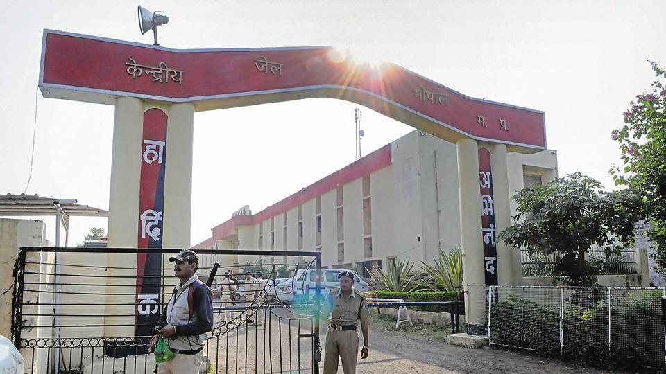 Bhopal Jailbreak,Madhya Pradesh,Bhopal Central Jail
