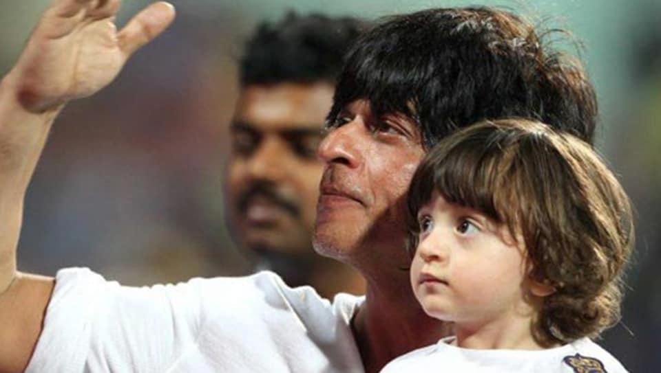 Shah Rukh Khan,AbRam,SRK