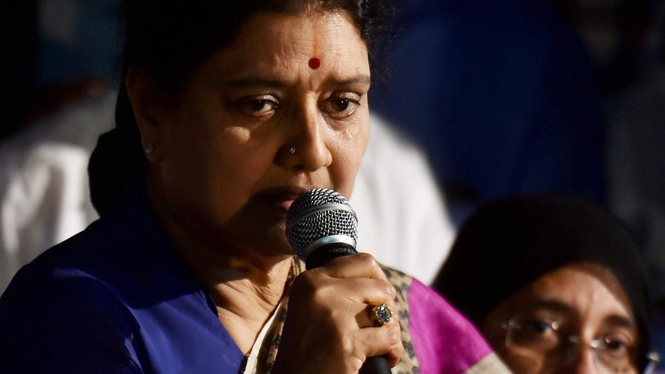 The Supreme Court convicted AIADMK leader VK Sasikala in a 21-year-old disproportionate assets case.