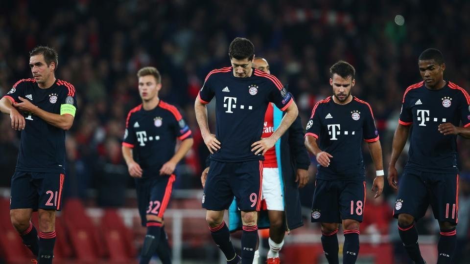 Bayern Munich struggled to victory in their Bundesliga match against Ingolstadt ahead of their Champions League clash against Arsenal.