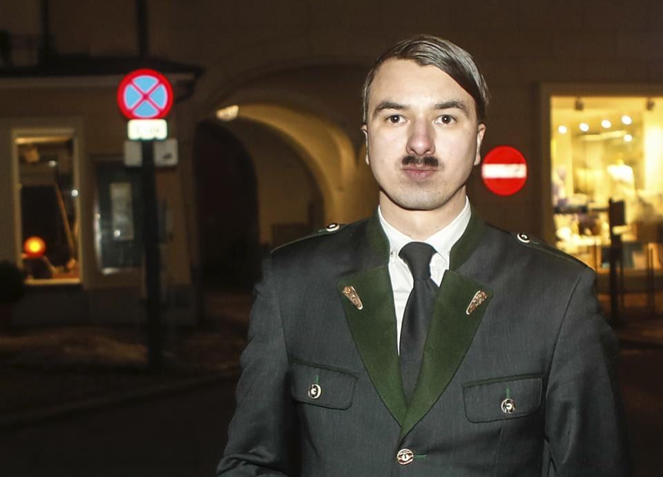 "The 25-year-old Austrian national would introduce himself as ""Harald Hitler"","
