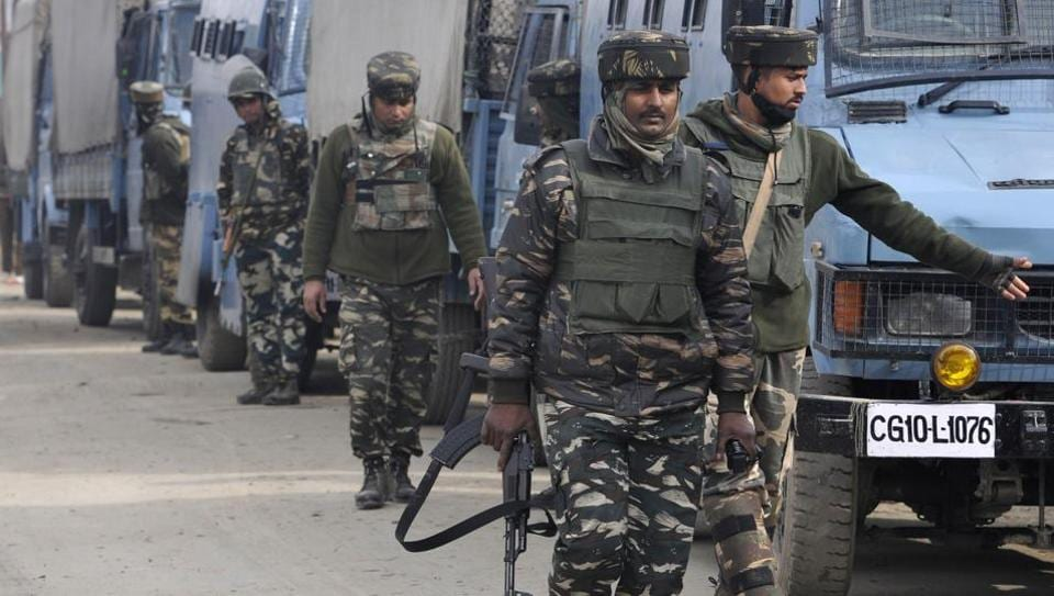 The gunfight started at 5.30 am after security forces launched a search operation, following intelligence inputs about the presence of militants.