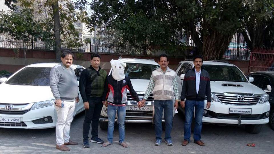 Delhi carjackers
