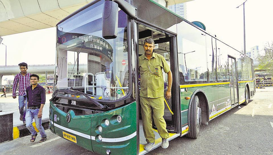 The city bus service is aimed at boosting last-mile connectivity options in Noida.