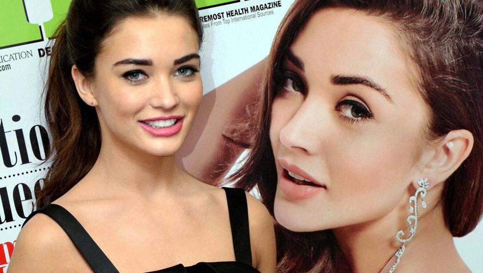 Bollywood actor Amy Jackson during the unveiling of the December issue of Health & Nutrition magazine.