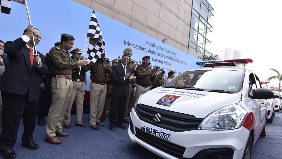 Haryana police,KMPExpressway,Gurgaon police
