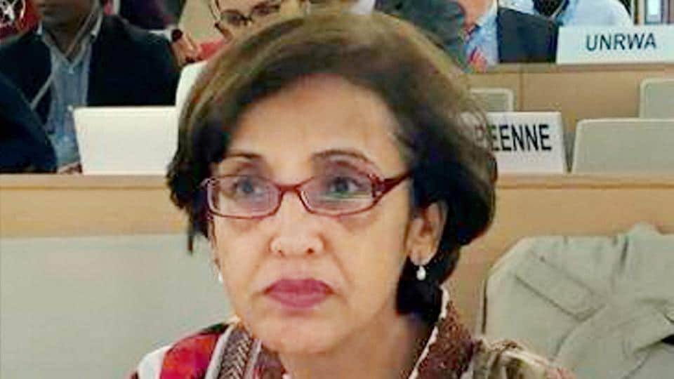 Tehmina Janjua was appointed as Pakistan's first woman foreign secretary.