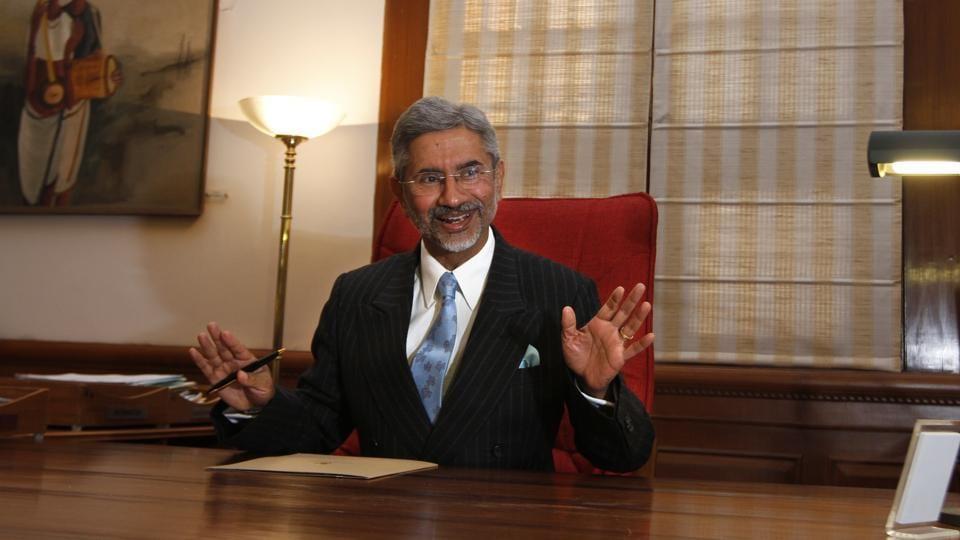 Foreign secretary S Jaishankar said India has to play a larger role on the global scene.