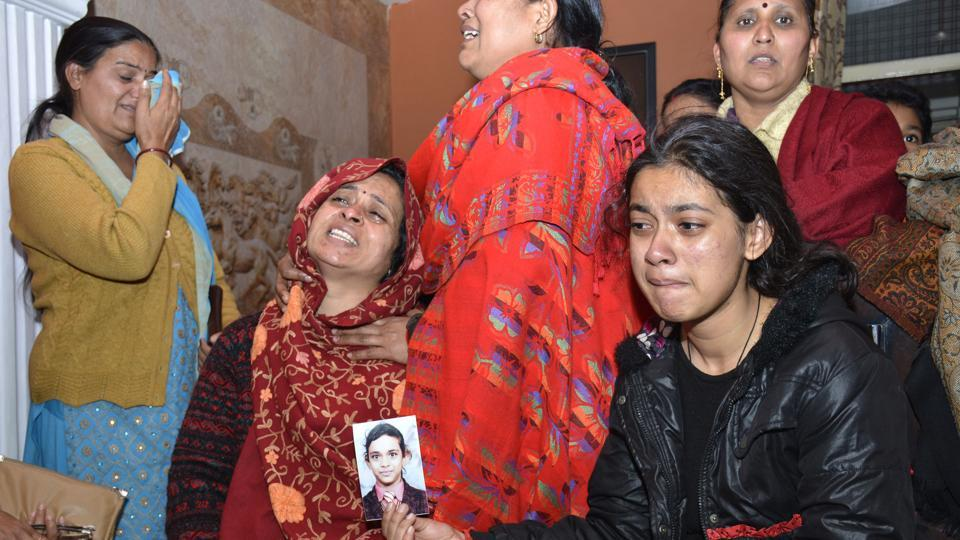 The family of the girl tried frantically to find her but could not do so.