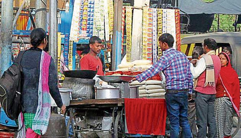 Currently, the district administration has no concrete data on the total number of street vendors in Bathinda.