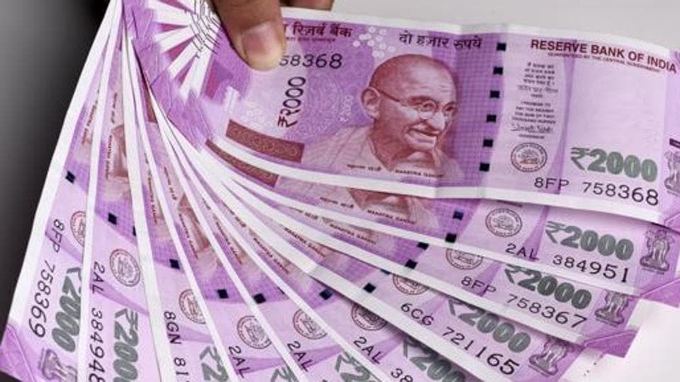 File photo of Rs 2000 banknotes.
