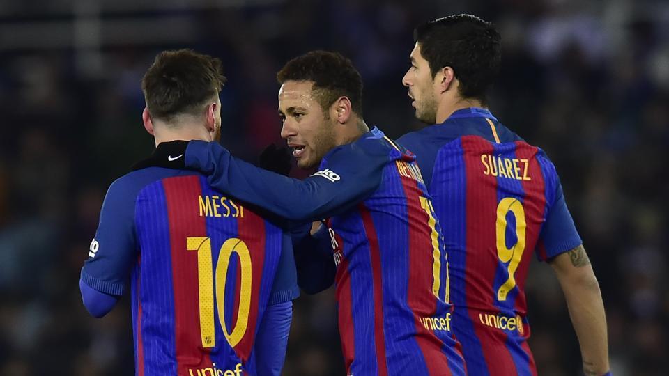 FC Barcelona,Paris Saint-Germain F.C.,Lionel Messi