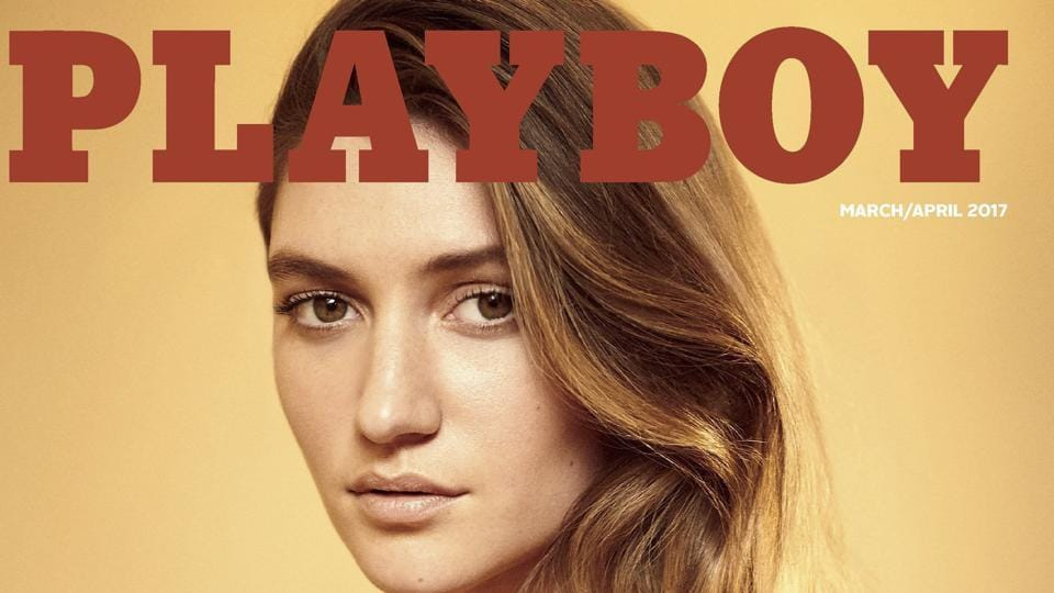 playboy will feature nudes after all magazine disrobes after covering up in 2016 art and. Black Bedroom Furniture Sets. Home Design Ideas