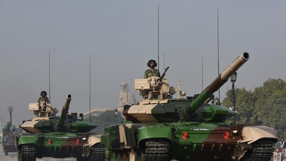 The system comprised of automatic firing system, 2 axis self-stabilised platform, day camera and night vision devices and automatic target tracking.